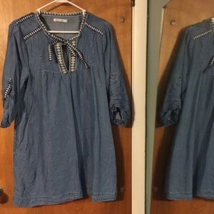 Kenneth Cole Reaction chambray tunic/dress